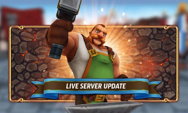 Live Server Update – 16.02.2021
