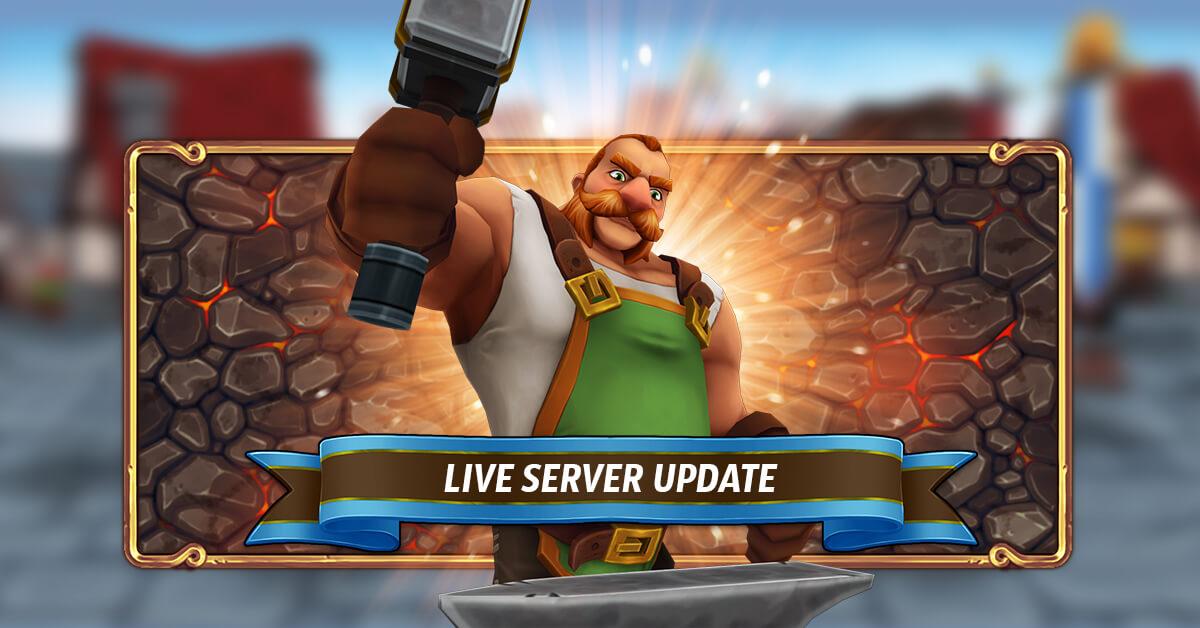 Live Server Update – 20.05.2020