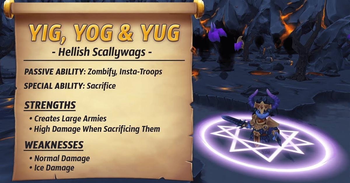 Yig, Yog AND Yug