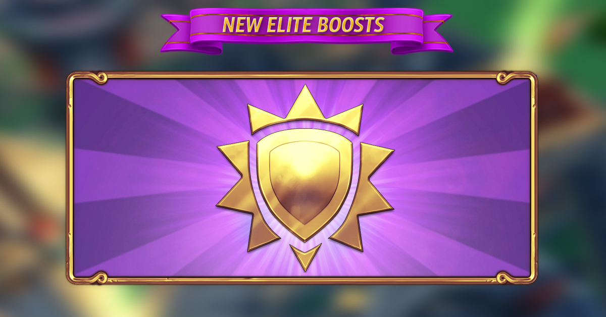 New Elite Boosts