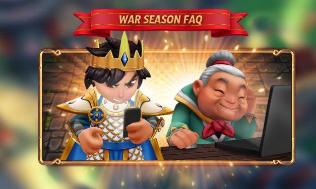 War Season FAQ