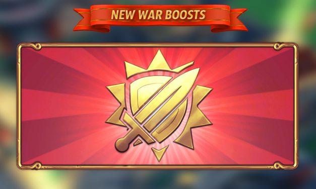 War Season BOOSTS