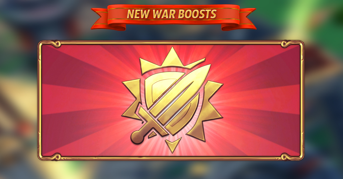War Season BOOSTS