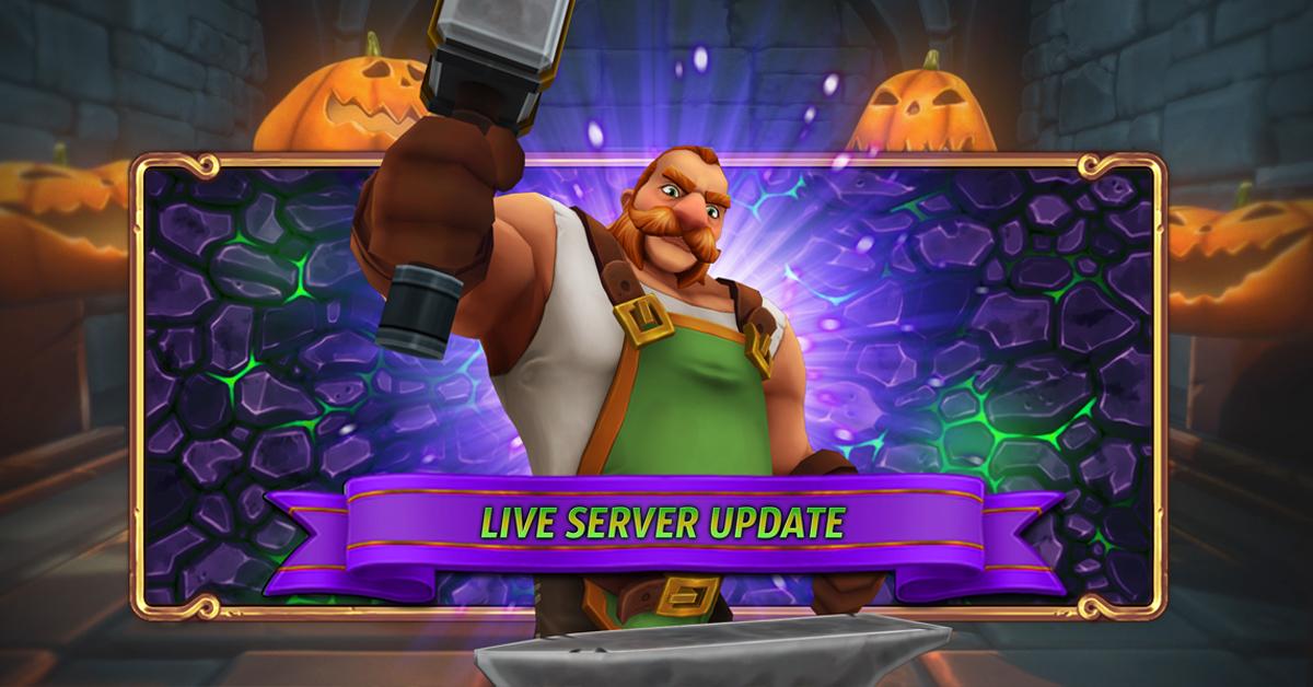 Live Server Update – 16.10.2020