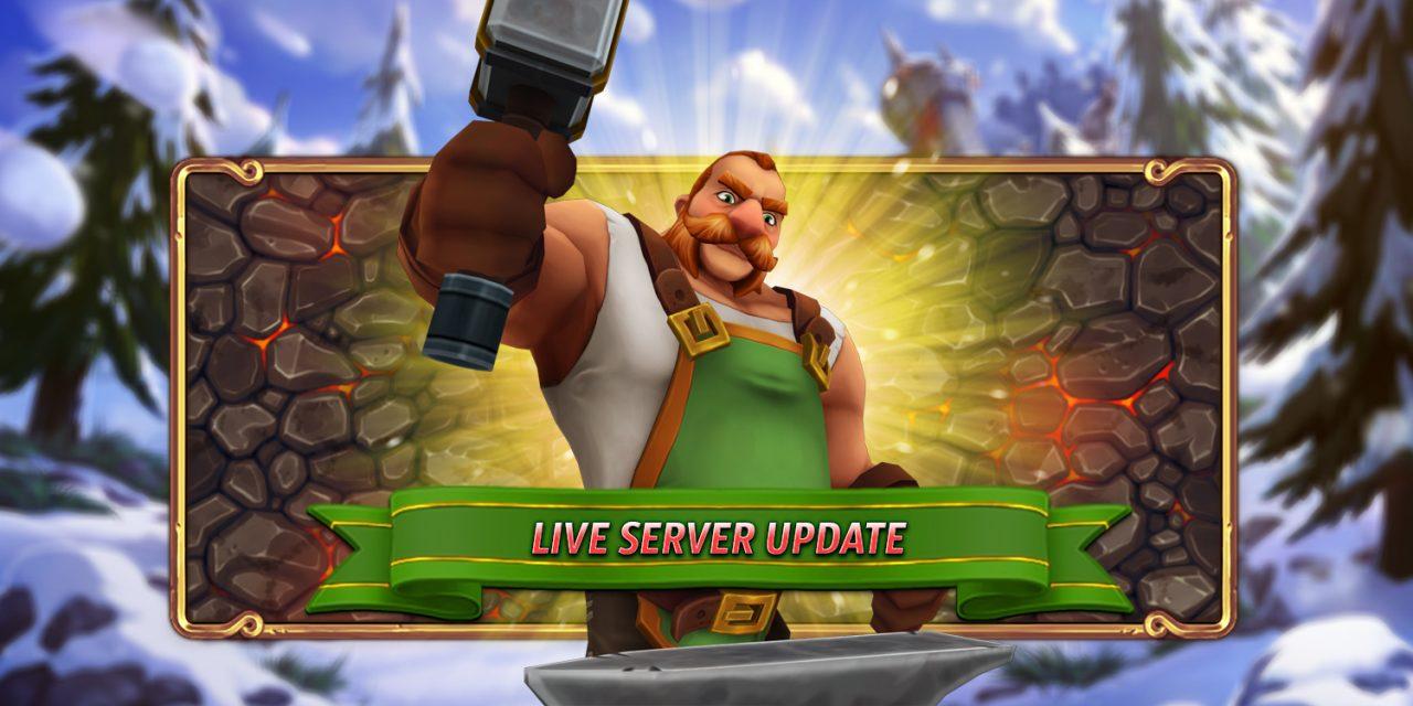 Live Server Update – 10.12.2020