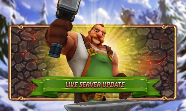 Live Server Update – 17.12.2020