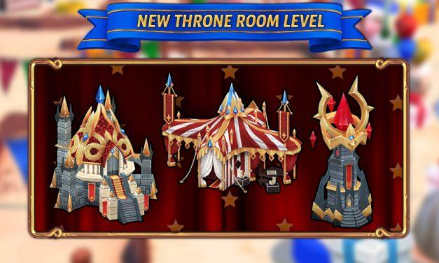 New Throne Room Level
