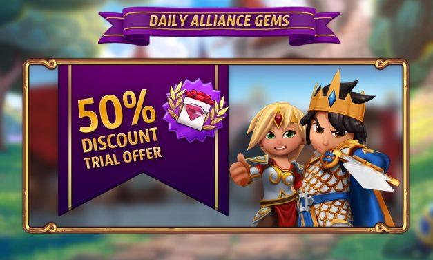 Daily Alliance Gem Discount
