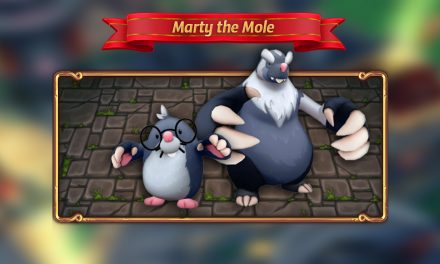 Introducing: Marty the Mole